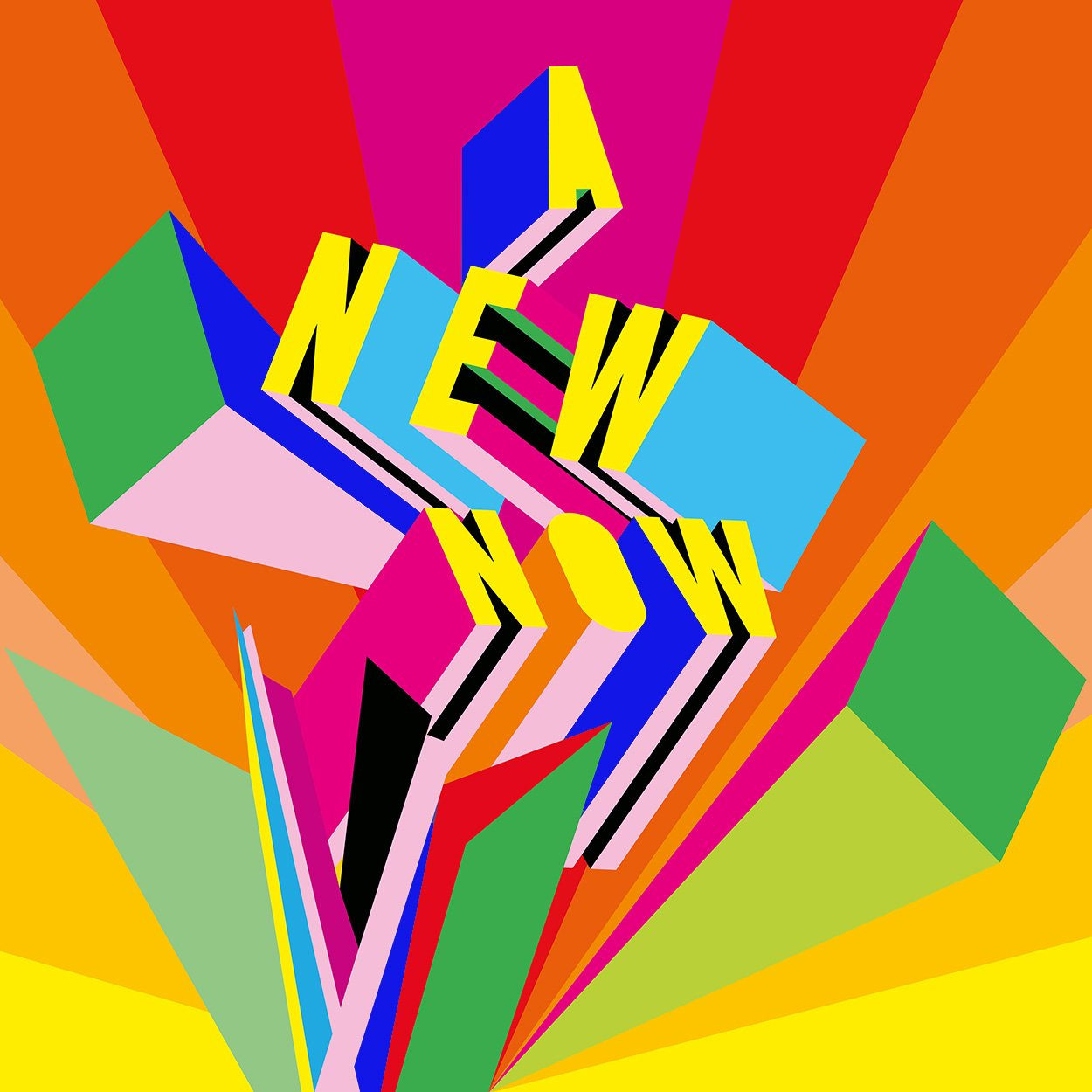 A New Now by Morag Myerscough